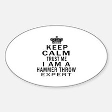 Hammer Throw Expert Designs Decal