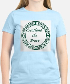 Cute Scotland the brave T-Shirt
