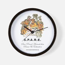 SPARE Wall Clock