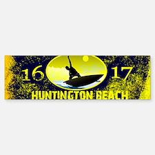 SURF CITY CALIFORNIA Bumper Bumper Bumper Sticker
