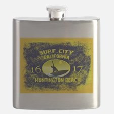 SURF CITY CALIFORNIA Flask