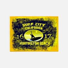 SURF CITY CALIFORNIA 5'x7'Area Rug