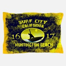 SURF CITY CALIFORNIA Pillow Case