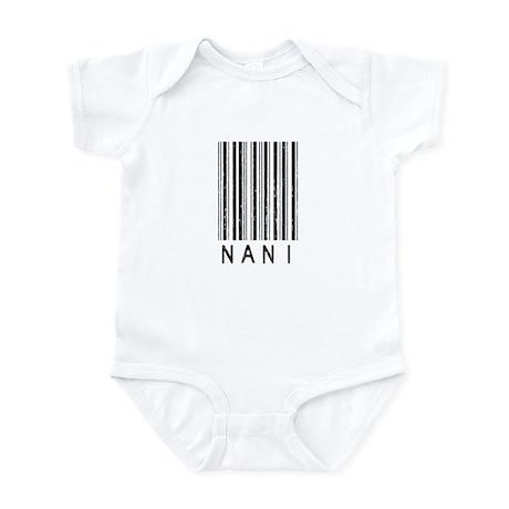 Nani Barcode Infant Bodysuit