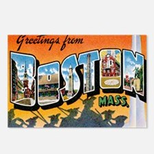 Boston Postcard Postcards (Package of 8)