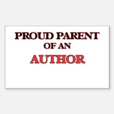 Proud Parent of a Author Decal