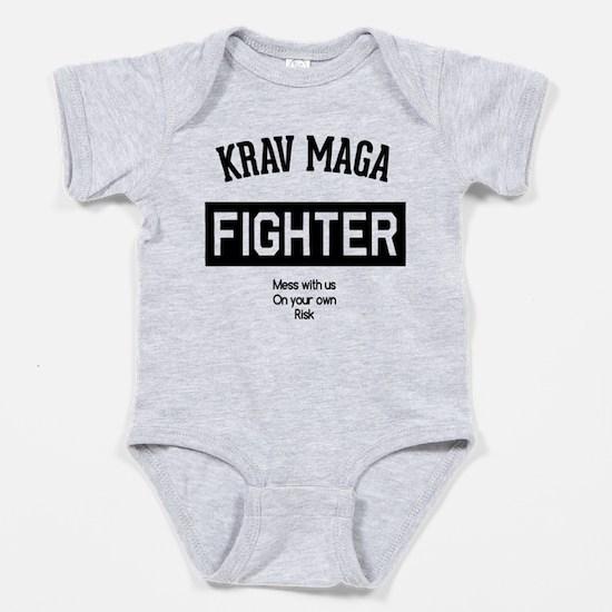 Funny Israel defense Baby Bodysuit