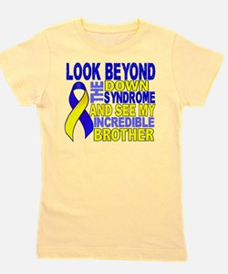 Funny Support down syndrome Girl's Tee