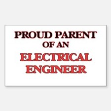 Proud Parent of a Electrical Engineer Decal
