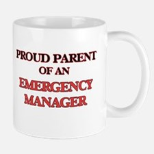 Proud Parent of a Emergency Manager Mugs