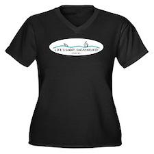 Life's Short, Swim Nekkid Plus Size T-Shirt
