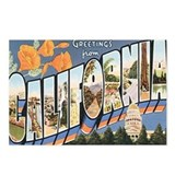 Los angeles postcards Postcards
