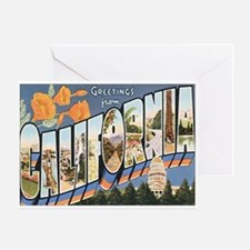 California Postcard Greeting Card