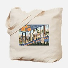 California Postcard Tote Bag