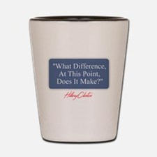 What Difference Shot Glass
