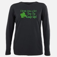 Cute St patricks day Plus Size Long Sleeve Tee