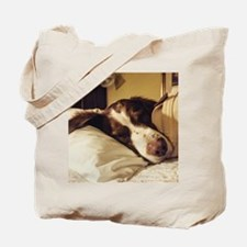 Unique Brittany spaniel Tote Bag