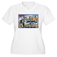Catalina Island Postcard T-Shirt