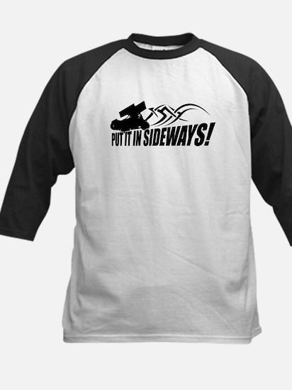 Put it in Sideways! Kids Baseball Jersey