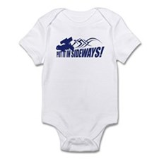 Put it in Sideways! Infant Bodysuit