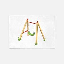 Outdoor Swing 5'x7'Area Rug