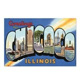 Chicago vintage Postcards