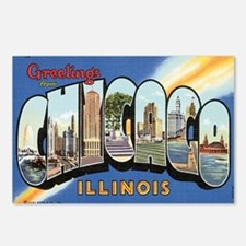Chicago Postcard Postcards (Package of 8)