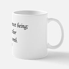 """You Knit Me Together"" Mug"