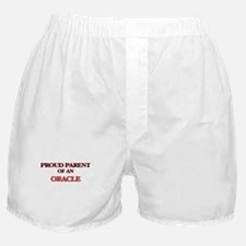Proud Parent of a Oracle Boxer Shorts