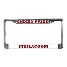 Indian Pride Steilacoom License Plate Frame