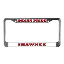 Indian Pride Shawnee License Plate Frame