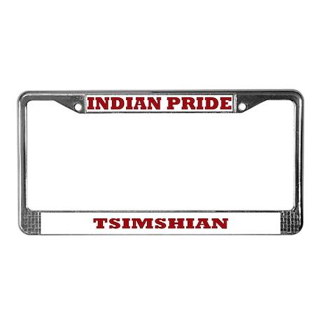 Indian Pride Tsimshian License Plate Frame