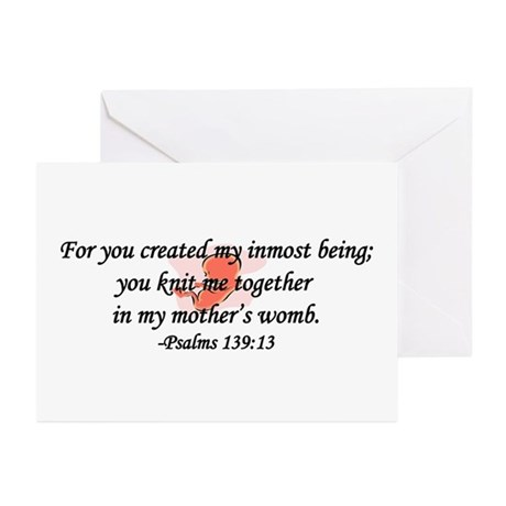 """You Knit Me Together"" Greeting Cards (Pk of 10)"