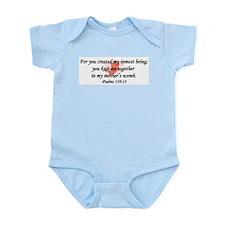 """""""You Knit Me Together"""" Infant Bodysuit"""