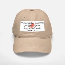 """You Knit Me Together"" Baseball Baseball Cap"