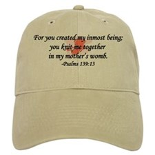 """You Knit Me Together"" Baseball Cap"