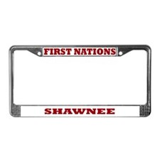 First Nations Shawnee License Plate Frame