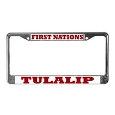First Nations Tulalip License Plate Frame