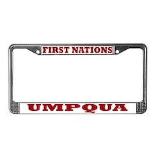 First Nations Umpqua License Plate Frame