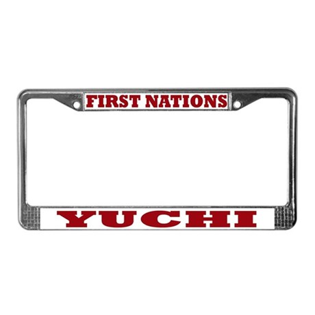 First Nations Yuchi License Plate Frame