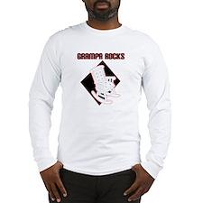 Grampa Rocks Long Sleeve T-Shirt