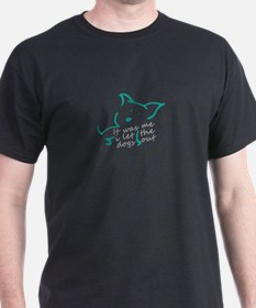 Cool Who let the dogs out T-Shirt
