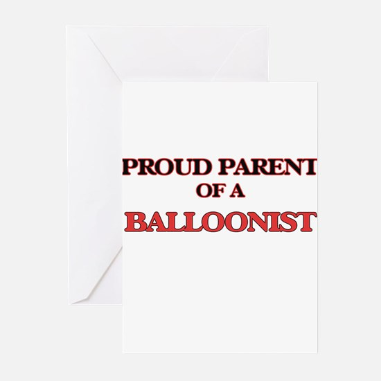 Proud Parent of a Balloonist Greeting Cards