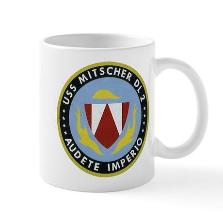 USS MITSCHER Mug