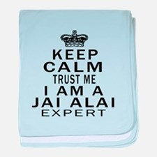 jai Alai Expert Designs baby blanket