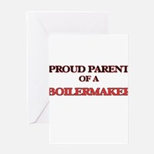 Proud Parent of a Boilermaker Greeting Cards
