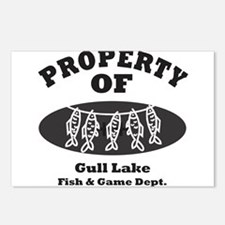 Property of Fish & Game Postcards (Package of 8)