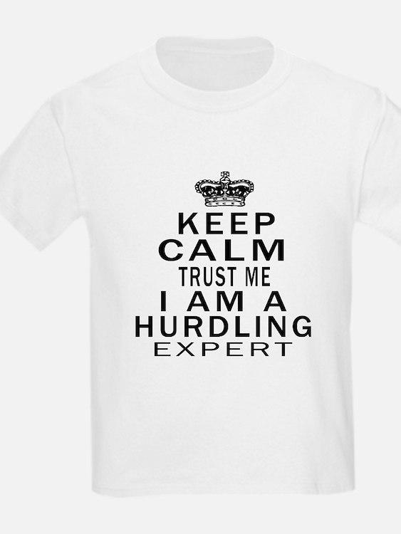 Hurdling Expert Designs T-Shirt