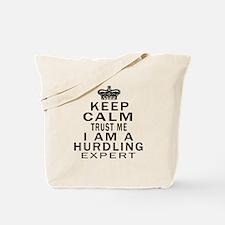 Hurdling Expert Designs Tote Bag