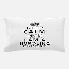 Hurdling Expert Designs Pillow Case